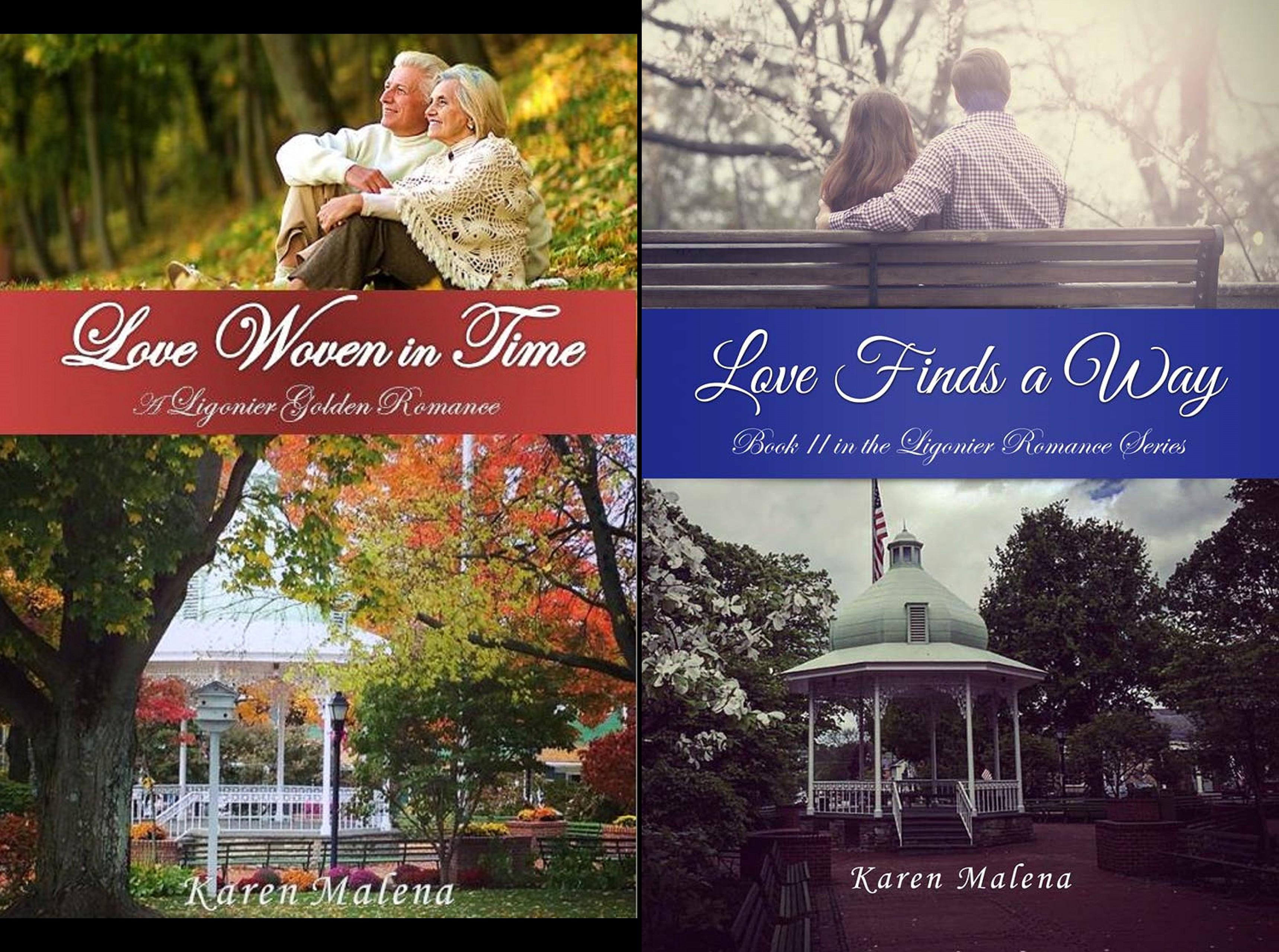 The Ligonier Romance Series (2 Book Series)