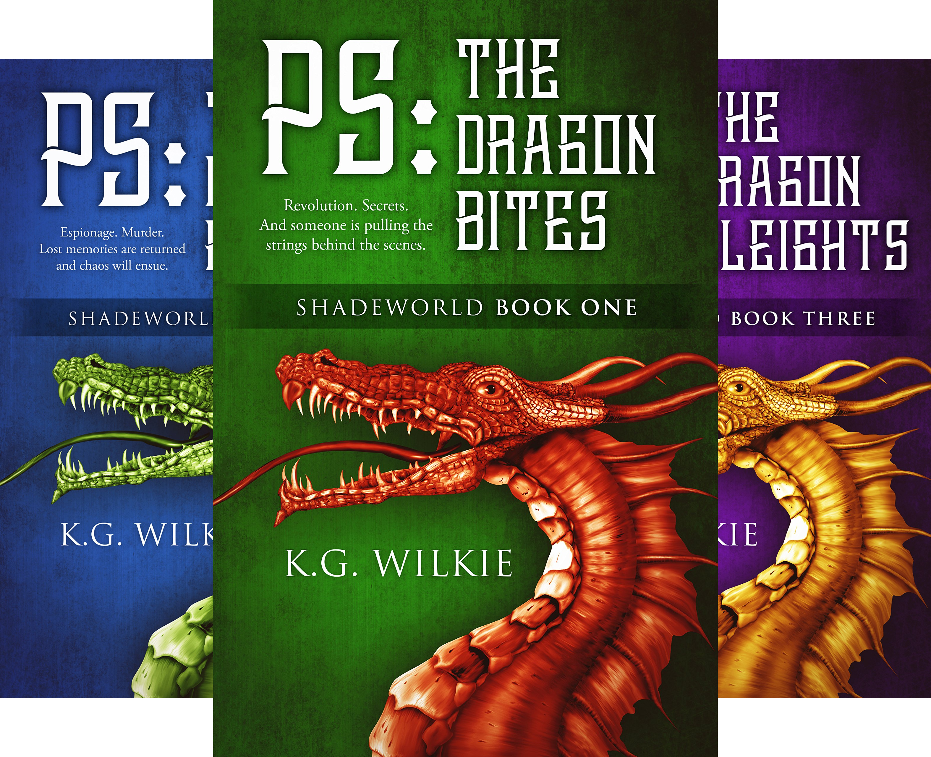 Shadeworld (3 Book Series)