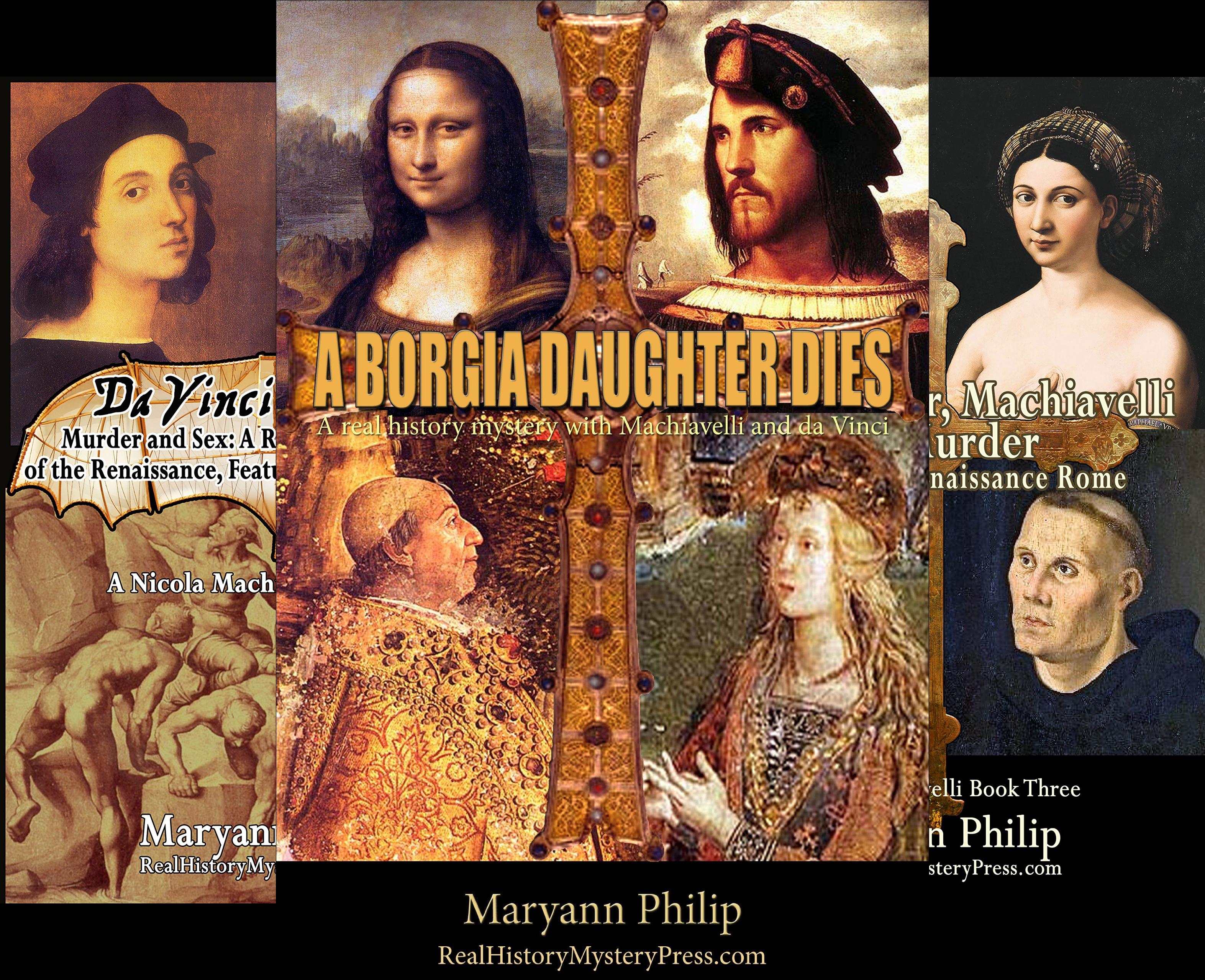 A Nicola Machiavelli Mystery (3 Book Series)