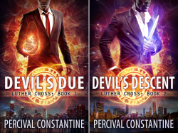 Luther Cross (2 Book Series) by  Percival Constantine