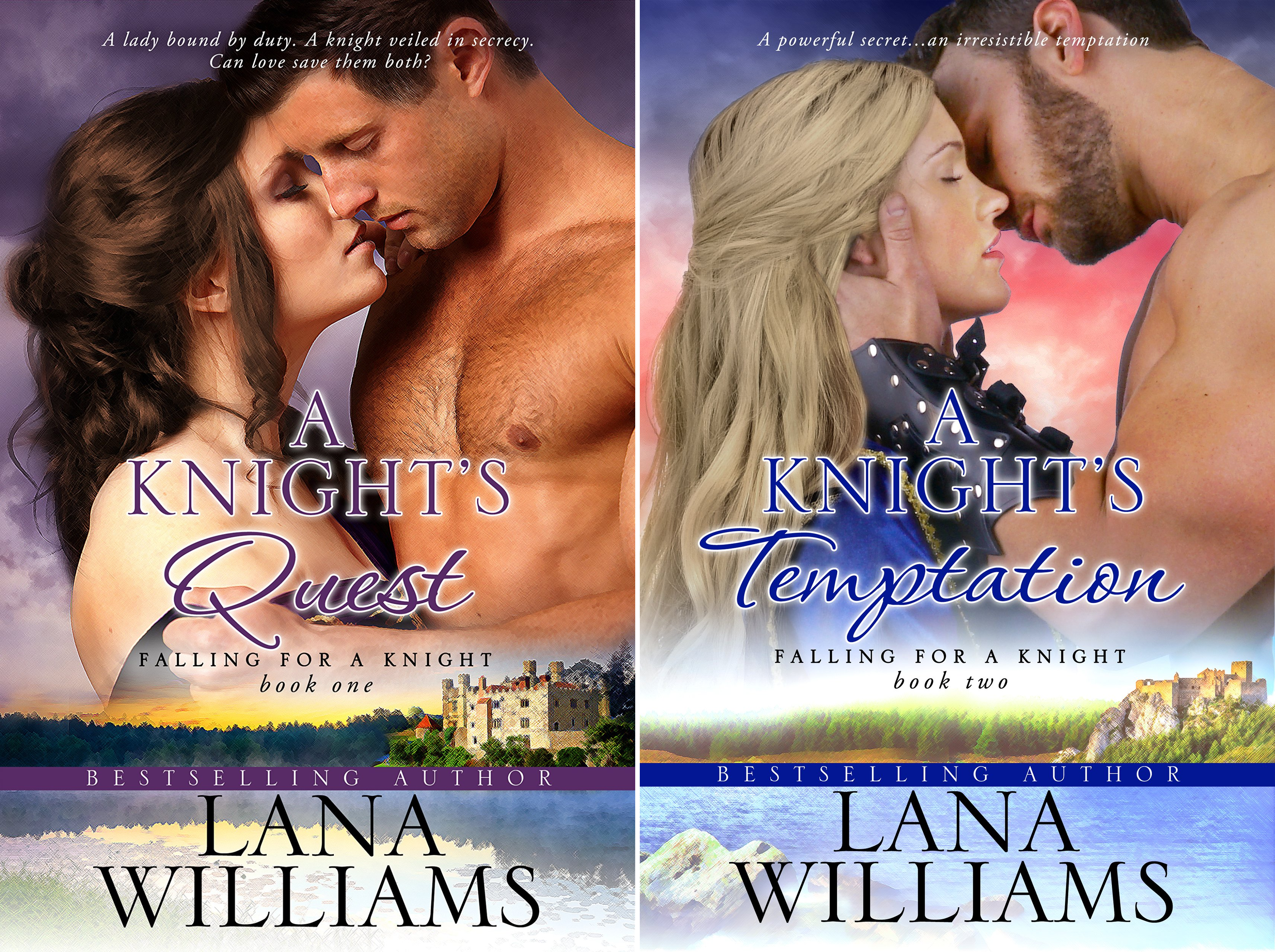 Falling For A Knight (2 Book Series)