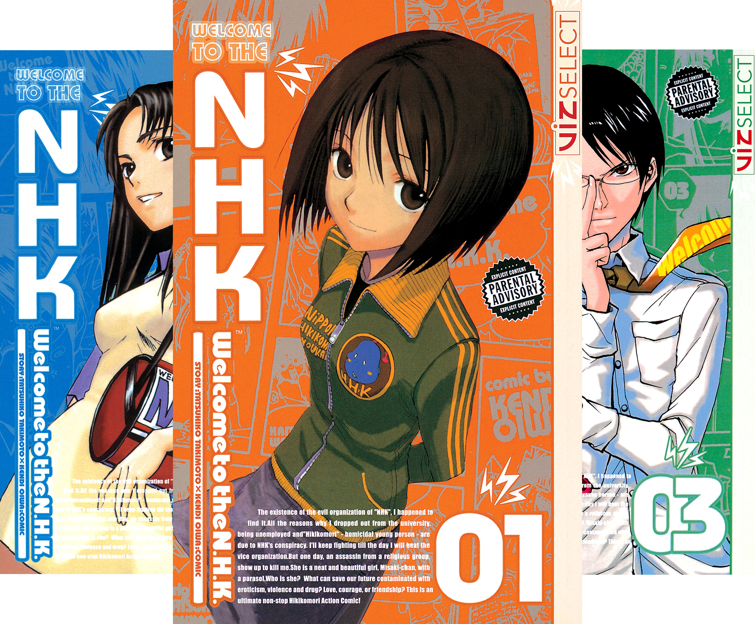 Welcome to the N.H.K. (6 Book Series)
