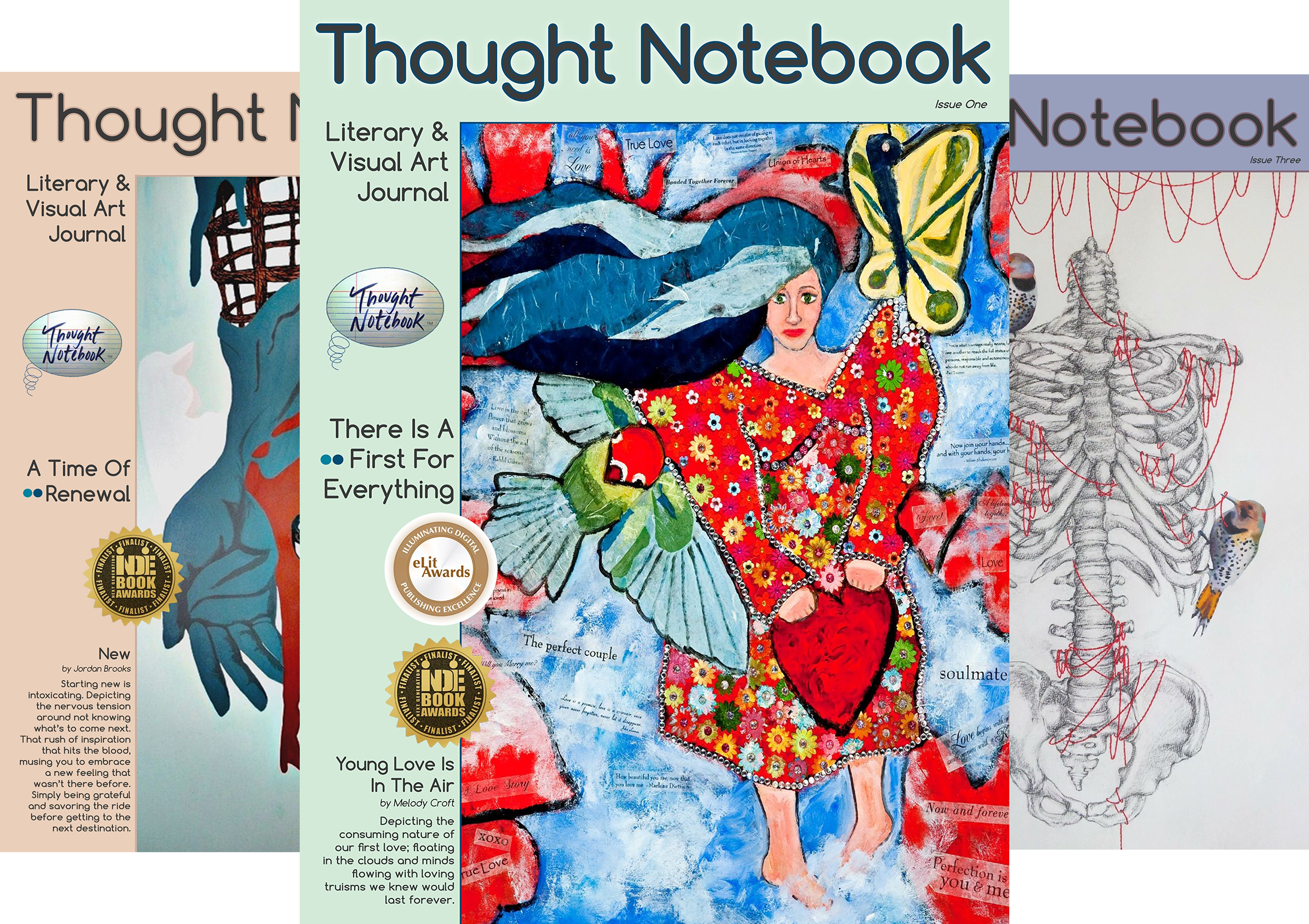 Thought Notebook Journal (5 Book Series)