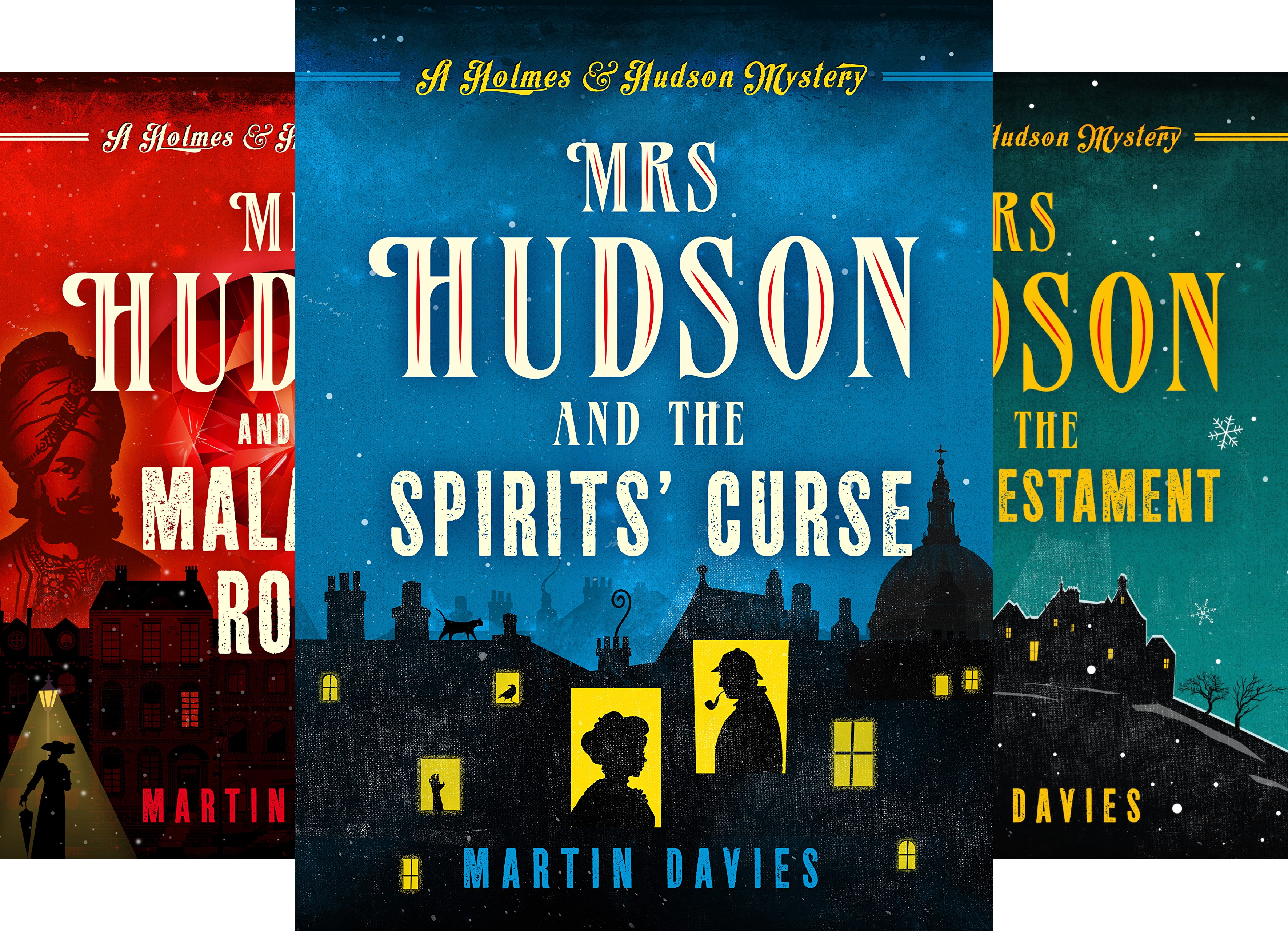 A Sherlock Holmes & Mrs Hudson Mysteries (3 Book Series)