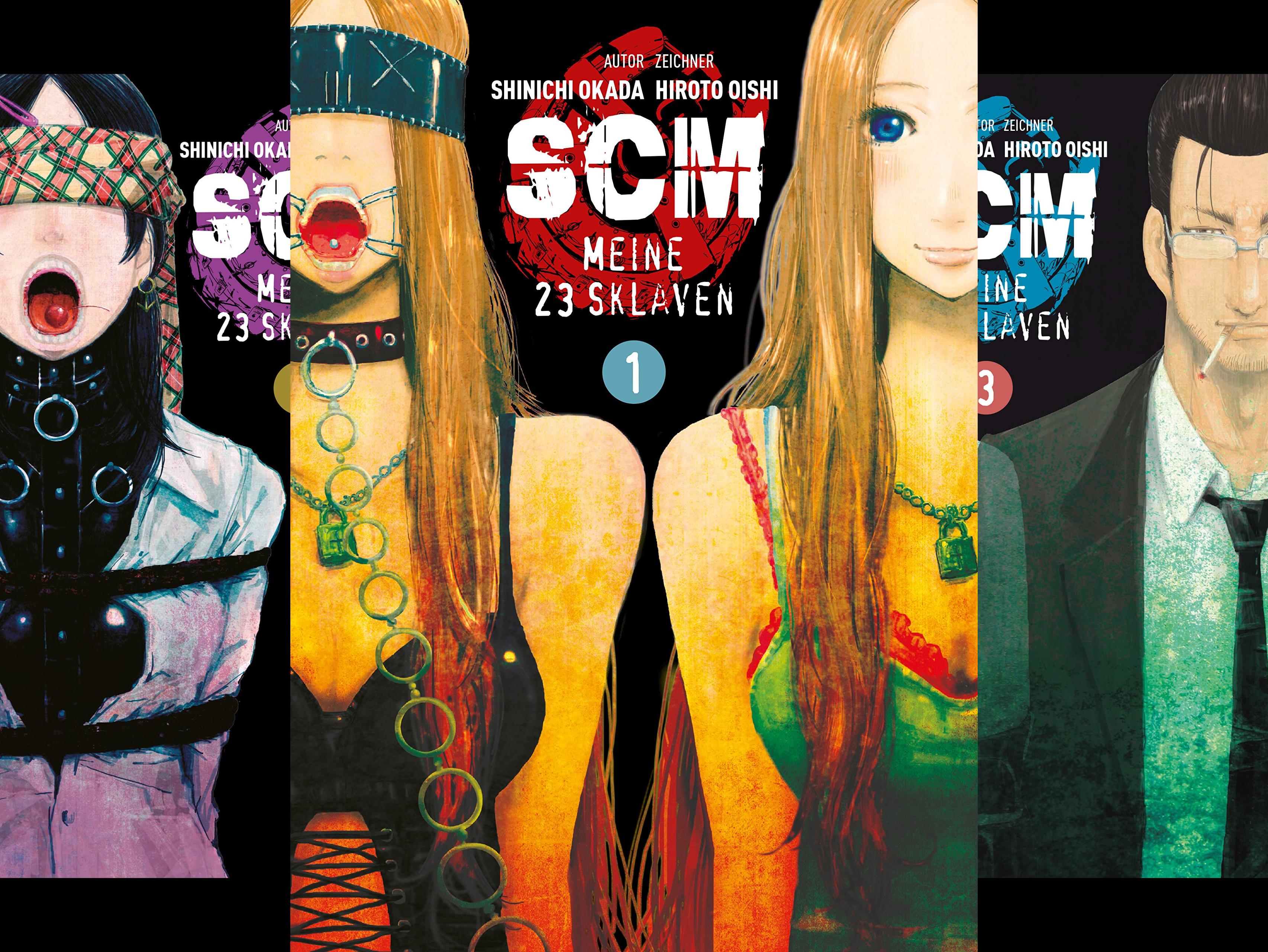 SCM - Meine 23 Sklaven (Reihe in 9 Bänden)