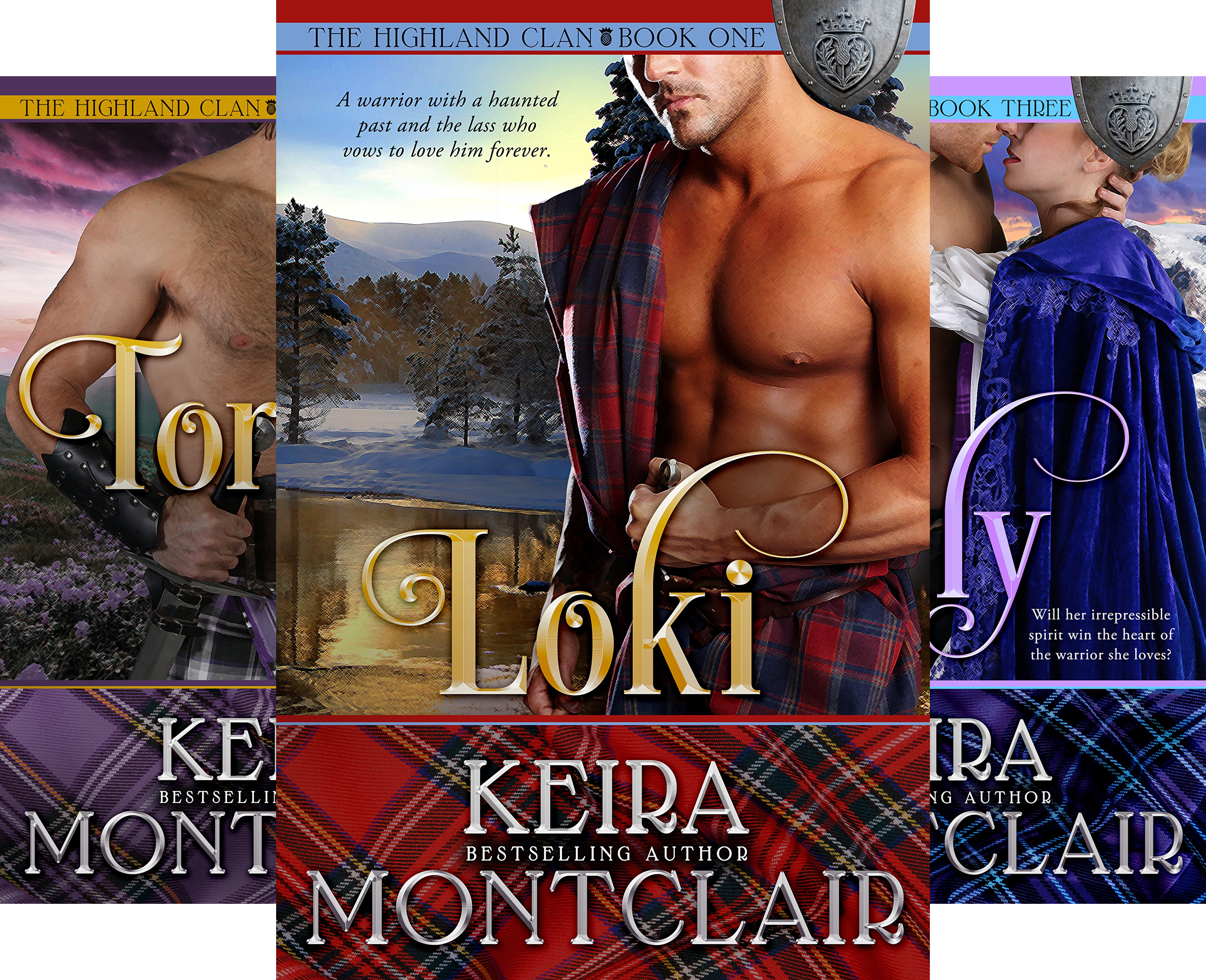 The Highland Clan (10 Book Series)