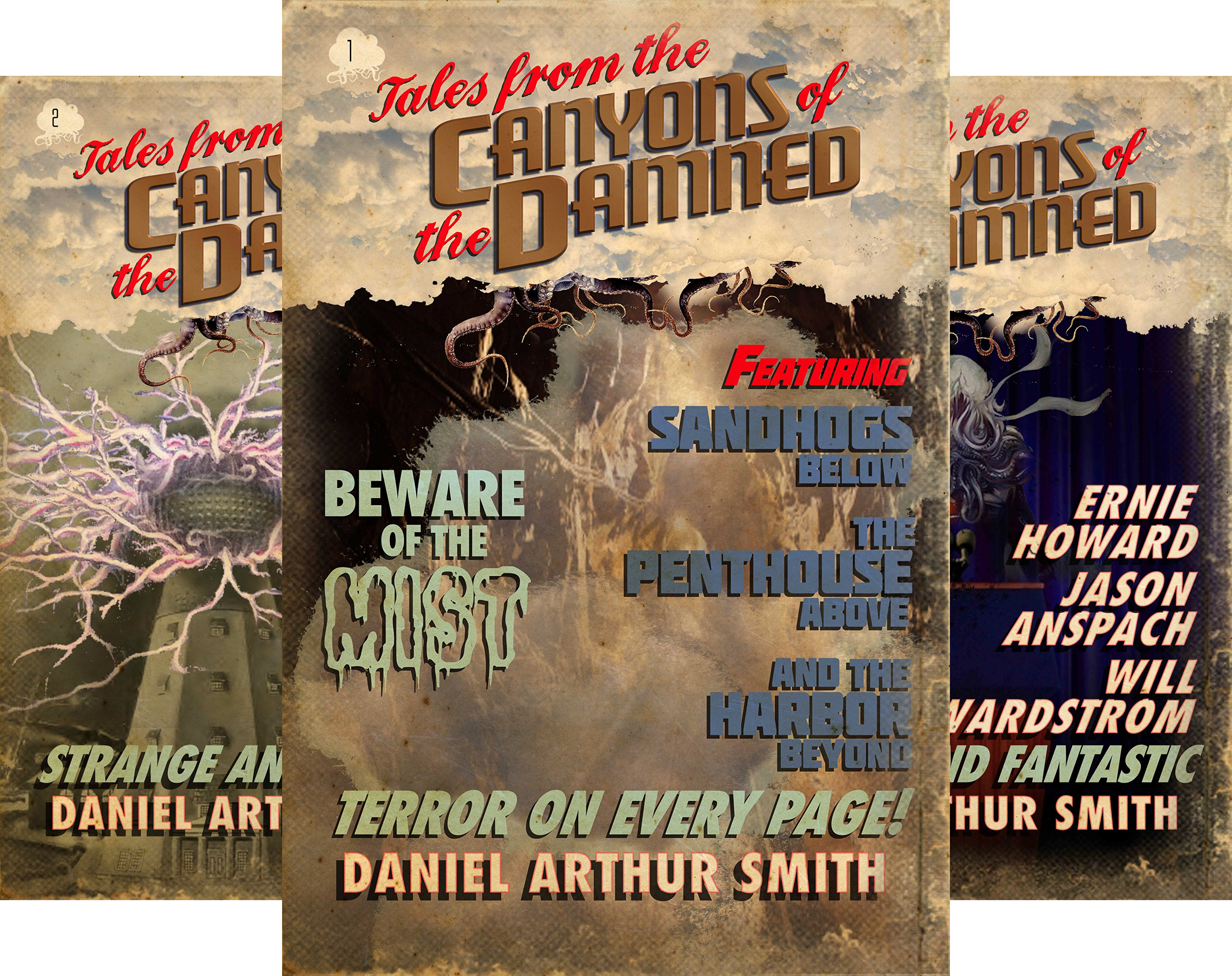 Tales from the Canyons of the Damned (24 Book Series)