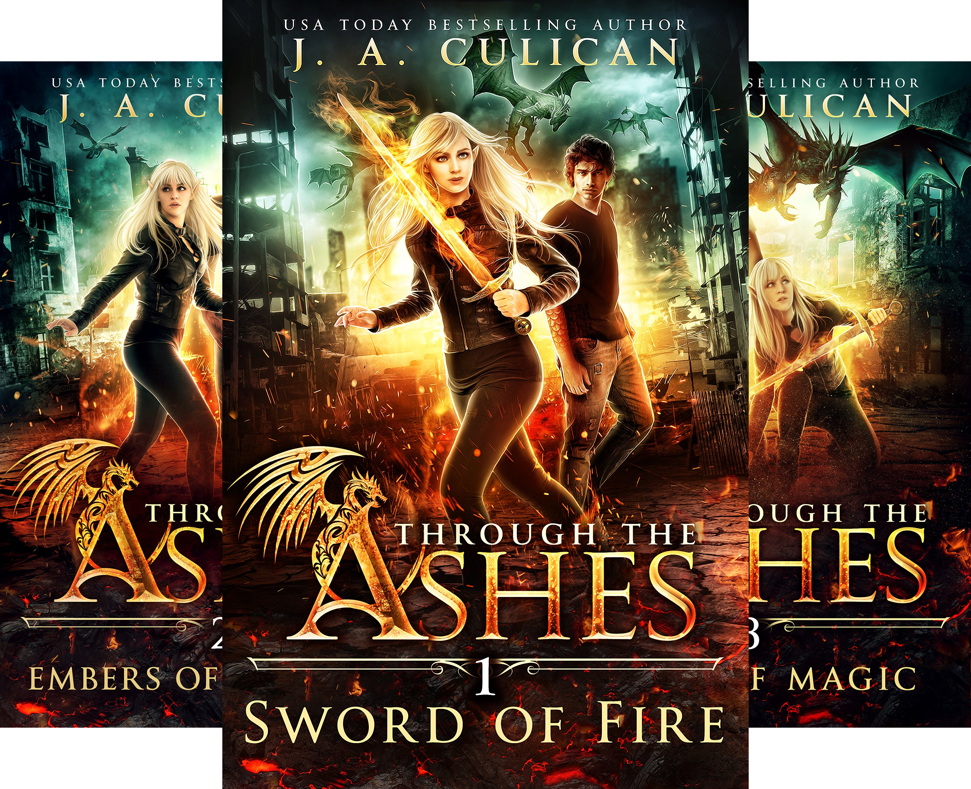 Through the Ashes (4 Book Series)