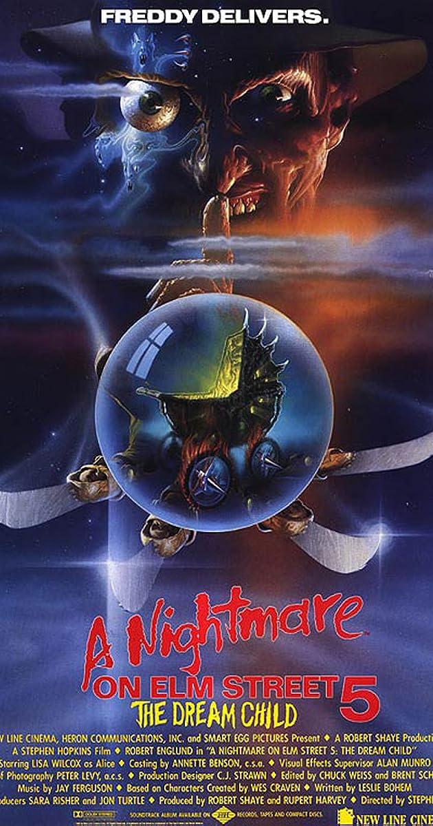 Košmaras Guobų gatvėje 5: sapnų vaikas / A Nightmare on Elm Street 5: The Dream Child (1989) Online