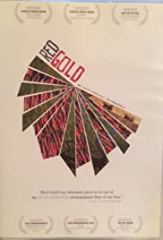 Red Gold Poster
