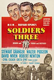 Soldiers Three(1951) Poster - Movie Forum, Cast, Reviews