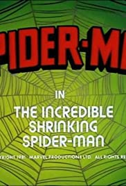 The Incredible Shrinking Spider-Man Poster