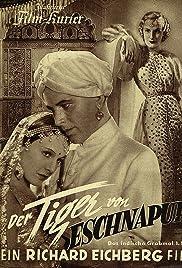 The Tiger of Eschnapur Poster