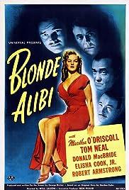 Blonde Alibi Poster