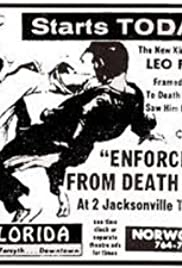 Enforcer from Death Row Poster