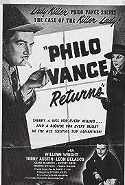 Philo Vance Returns Poster