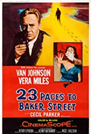 23 Paces to Baker Street (1956) Poster - Movie Forum, Cast, Reviews