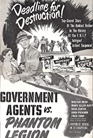 Government Agents vs Phantom Legion (1951) Poster - Movie Forum, Cast, Reviews