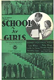 School for Girls Poster