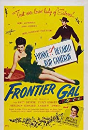 Frontier Gal (1945) Poster - Movie Forum, Cast, Reviews