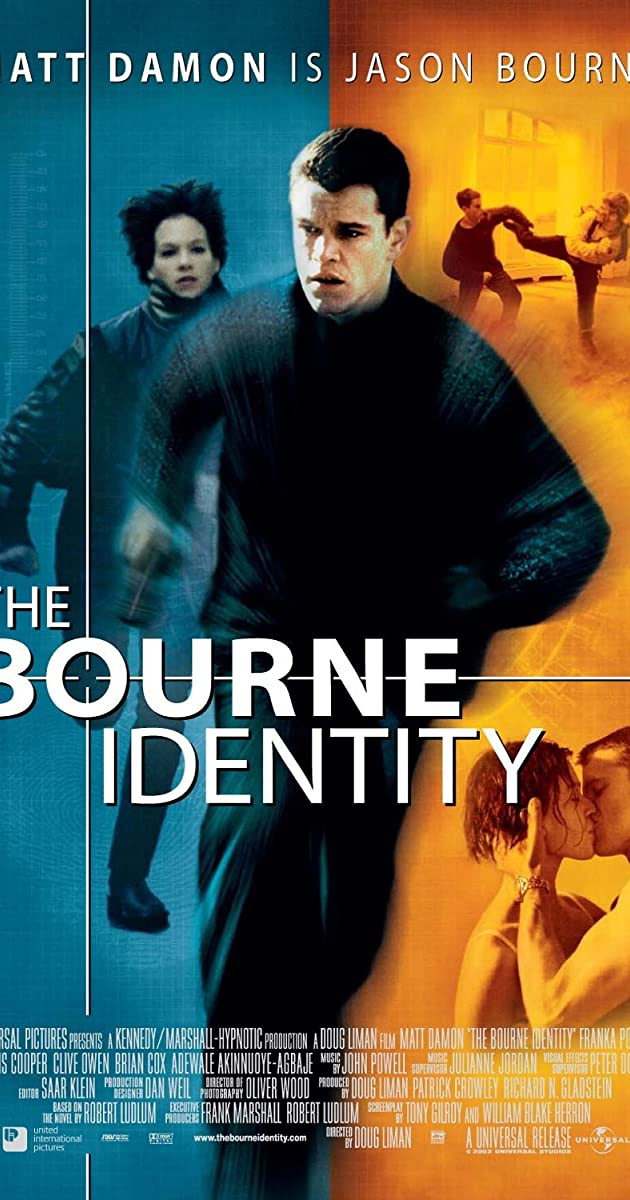 The Bourne Identity 2002 BRRip