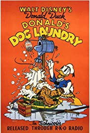 Donald's Dog Laundry Poster