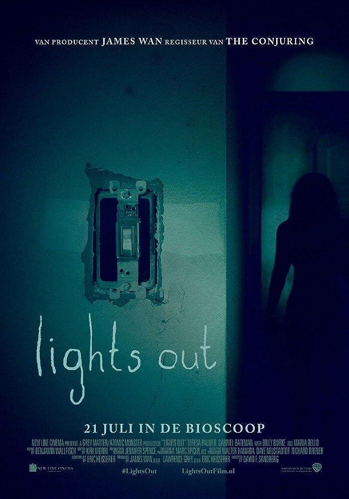 Lights Out 2016 720p BRRip Dual Audio Hindi(Original DD5.1) + English