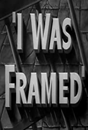 I Was Framed Poster