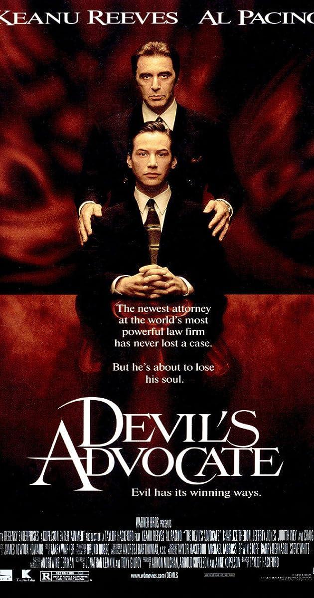 Velnio advokatas online