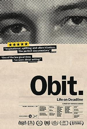 Obit. Poster