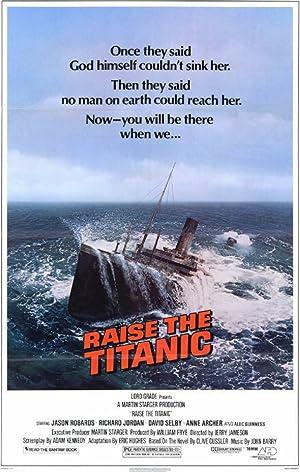 Raise the Titanic poster