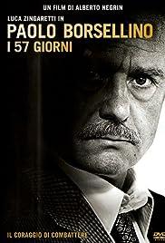 Paolo Borsellino - I 57 giorni Poster