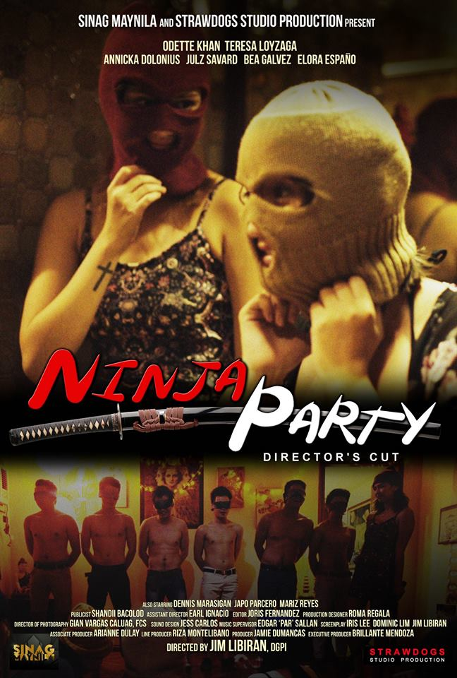 Ninja Party – Director's Cut (2015) HDRip