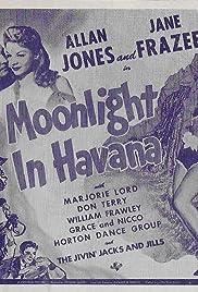 Moonlight in Havana Poster