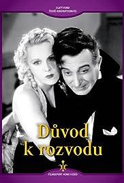 Duvod k rozvodu Poster