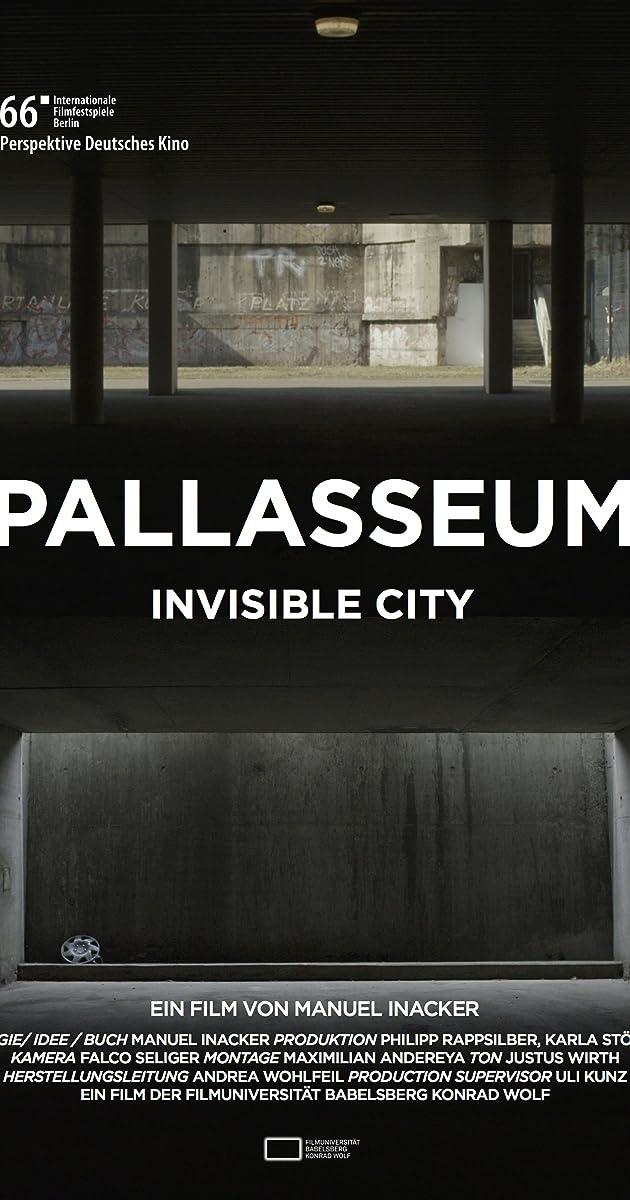 Risultati immagini per pallasseum - invisible city locandina