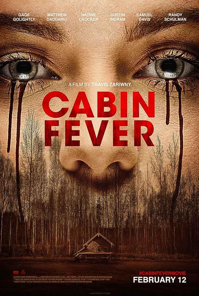 [18+ English] Cabin Fever(2016) WEB-RIP HD [MP4]