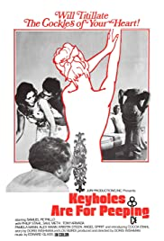 Keyholes Are for Peeping Poster