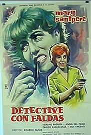 Detective con faldas Poster