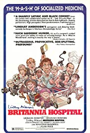 Britannia Hospital (1982) Poster - Movie Forum, Cast, Reviews