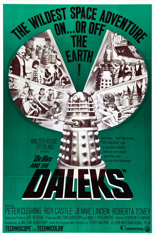 Dr Who And The Daleks [DVD]: Amazon.co.uk: Peter Cushing, Roy ...