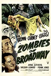 Zombies on Broadway (1945) Poster - Movie Forum, Cast, Reviews