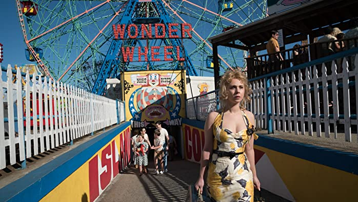 Juno Temple in Wonder Wheel (2017)