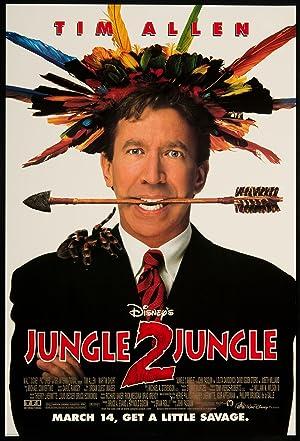 Poster Aus dem Dschungel, in den Dschungel