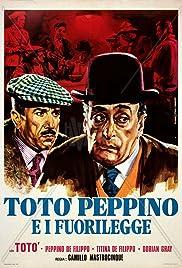 Totò, Peppino e i fuorilegge Poster