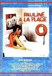 Pauline à la plage Poster
