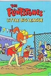 The Flintstones Little Big League Poster