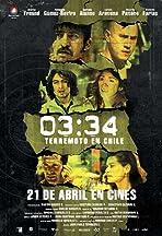 03:34 Terremoto en Chile
