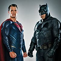 Ben Affleck and Henry Cavill in Batman v Superman: Dawn of Justice (2016)
