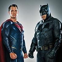 Ben Affleck and Henry Cavill in Batman v Superman: L'aube de la justice (2016)
